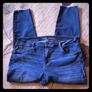 Old Navy Plus Size Rockstar Distressed Jean
